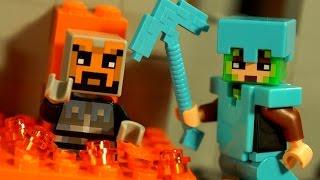Minecraft Мультики 7-я серия ! Мультфильм Лего Майнкрафт для Детей на русском :)) Stop Motion