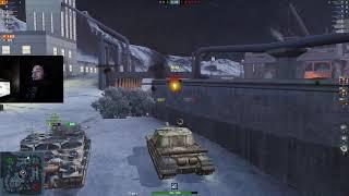 WoT Blitz - Рекордный урон на ПТ-САУ. Объект 268 и средний игрок - World of Tanks Blitz (WoTB)