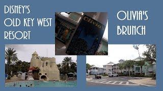 Disney's Old Key West Resort Tour| 2 Bedroom Villa| Brunch At Olivia's