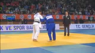 ZANTARAIA Georgii -- LIM  Sergey -66 kg IJF Grand Prix Samsun 2013