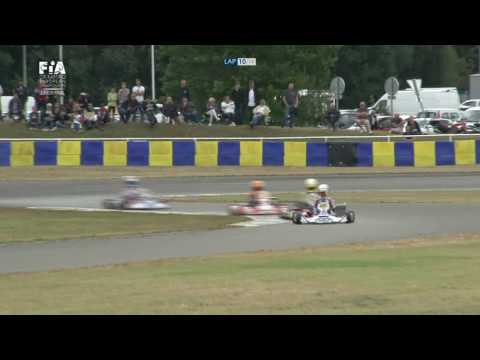 CIK FIA EUROPEAN CHAMPIONSHIP 2017 ROUND 3 JUNIOR FINAL