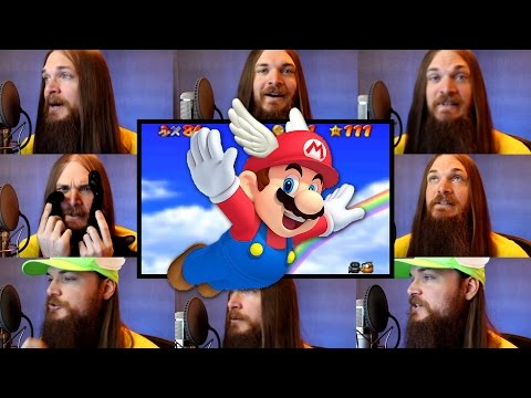 Super Mario 64 - Wing Cap Acapella (Mario Starman Theme)
