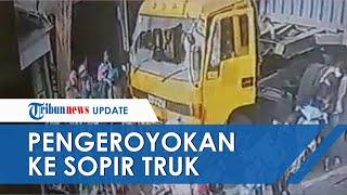 Detik-detik Rombongan Pengantar Jenazah Keroyok Sopir Truk di Cilincing, Sebut Halangi Laju Ambulans