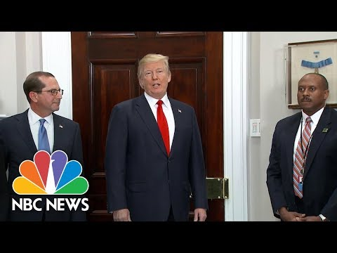 President Donald Trump Offers Preview To State Of The Union Address   NBC News
