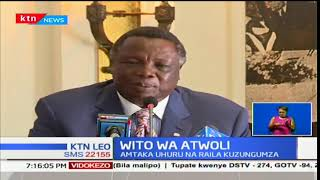 Francis Atwoli ahimiza haja ya mazungumzo baina ya serikali na upinzani