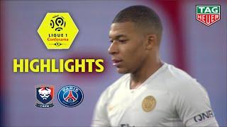 SM Caen - Paris Saint-Germain ( 1-2 ) - Highlights - (SMC - PARIS) / 2018-19