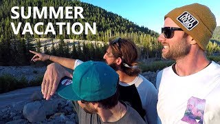Summer Vacation Snowboard Movie