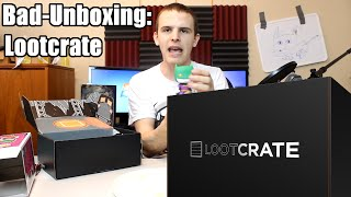 Bad Unboxing - Lootcrate [December 2014]
