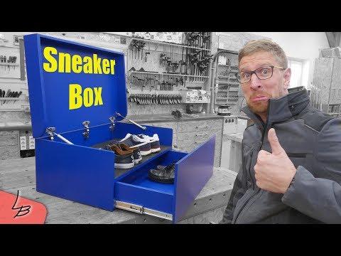 XXL Schuhkiste selber bauen | Sneaker Aufbewahrung | Lets Bastel