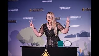 Award Acceptance Speech Vienna Austria | Limage Media Group Wins Not For Profit of The Year