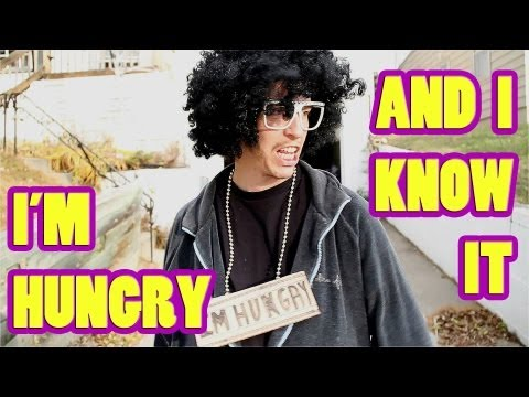 I'm Hungry and I Know It (LMFAO - Sexy and I Know It Official Music Video Parody)