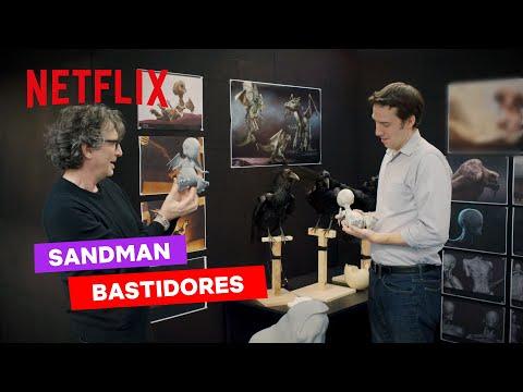 Neil Gaiman nos bastidores de Sandman   Netflix Brasil
