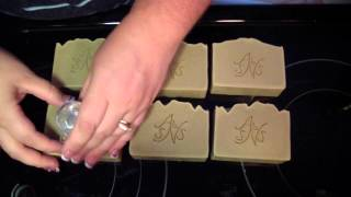How To Stamp Cold Process Soap