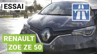 Essai de la Nouvelle Renault Zoé entre Paris et Bordeaux