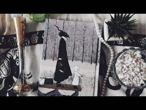 A Menina do Outro Lado, volume 2, do artista Nagabe