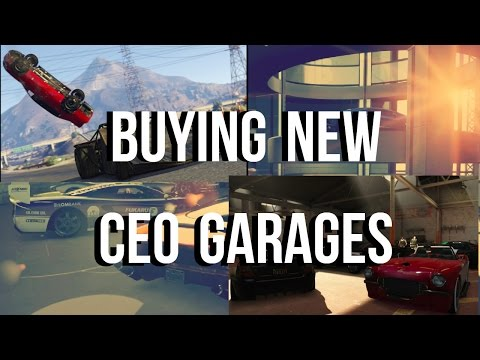 Buying A 60 Car CEO Garage|Customization Options And More|Actually Fair Prices