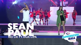 Sean Paul Ft. Dua Lipa   'No Lie'  (Live At Capital's Summertime Ball 2017)