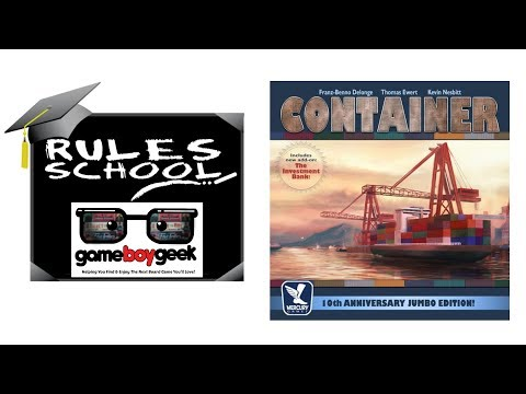 Learn How to Play Container(Rules School) with the Game Boy Geek