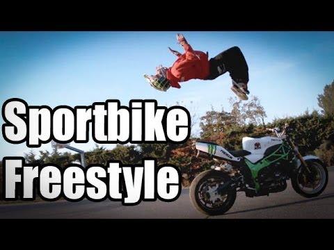 Acrobacias increibles con la moto