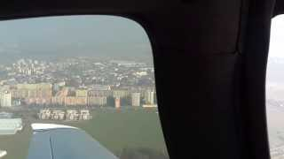 preview picture of video 'Cirrus SR22T OK-VIK landing in LKLT'