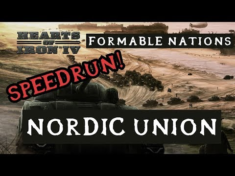 Hearts of Iron 4: Formable Nations - Nordic Union and Scandinavia