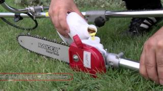 Gasoline Brush Cutter with Blade