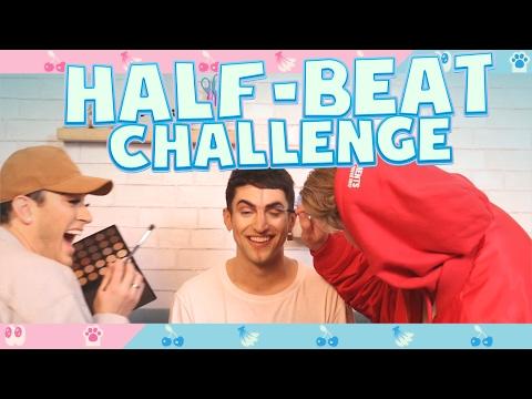 HALF-BEAT CHALLENGE! (feat. Manny MUA)