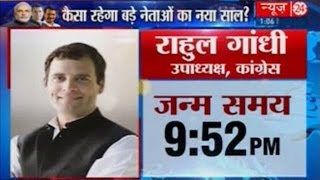 Rahul Gandhi  Horoscope And Predictions In 2016