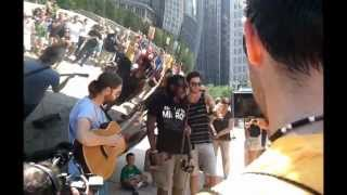Boyd Tinsley True Reflections at the Bean in Chicago 8-3