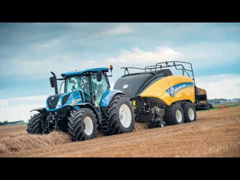 New Holland Loop Master™ double knotter technology
