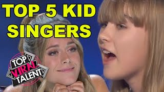 TOP 5 KID SINGING AUDITIONS on Got Talent