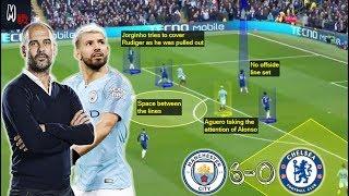 How Did Guardiola Dominate Sarri's Chelsea 6-0? Tactical Analysis