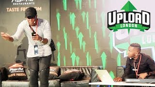 *NEVER SEEN BEFORE* LIVE DISS TRACK WITH KSI AT UPLOAD EVENT 2017!! 🔥🔥🔥