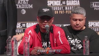 THE FULL MIKEY GARCIA POST FIGHT PRESS CONFERENCE - SPENCE VS GARCIA