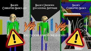 This Is A Baldis Virus!   Corrupted Basics Vs Unknown Educational Software [Baldis Basics Mod]