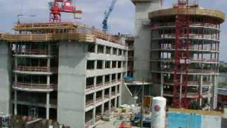 preview picture of video 'Munich City Tower Construction (Time-Lapse over 2 years)'