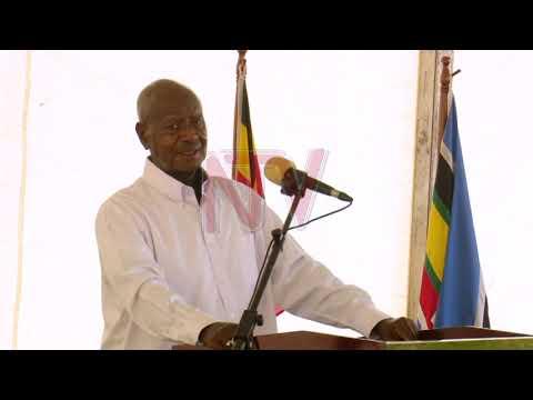 OBUMENYI BW'AMATEEKA: Pulezidenti Museveni awadde poliisi amagezi