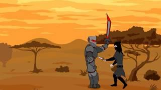 битва чифа с тёмным рыцарем