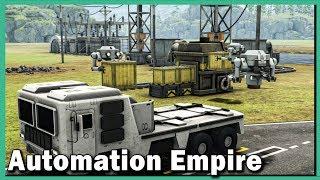 Automation Empire ► Fabrik, Eisenbahn, Förderbänder, Roboter! #1