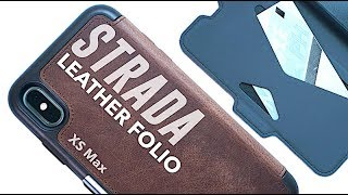 OtterBox STRADA Leather Folio Case | iPhone XS & XS Max