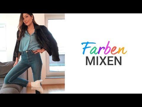 Diese 4 Farbkombis gehen immer | Farben mixen wie ein Modeprofi | natashagibson
