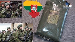 ИРП Сухпай Армия Литва Меню 3 Combat Ration Menu 3 Litauen