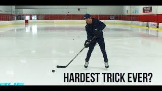 HARDEST TRICK IN HOCKEY??? | Powered By True