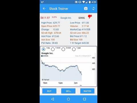 Video of Stock Trainer: Virtual Trading
