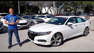 Is The 2020 Honda Accord Touring 2.0T A BETTER Performance Sedan Than The Camry TRD?