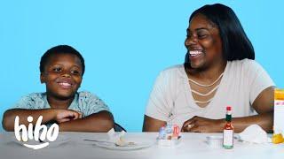 Cavalli Tries His Mom's Favorite Childhood Snack | Kids Try | HiHo Kids