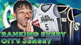 RANKING EVERY NBA CITY JERSEY OF 2019-2020!