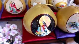栃木県下野市の瓢の民芸品