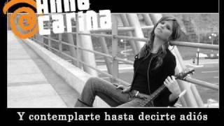 anna carina - solo un segundo (subtitulado HD)
