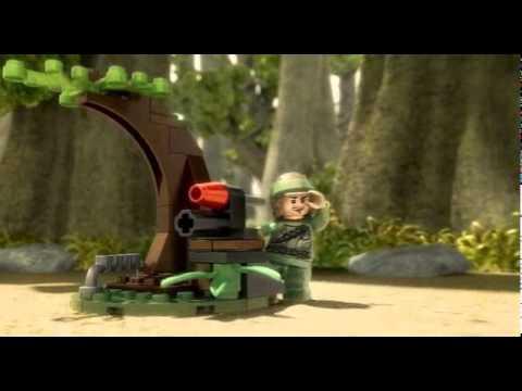 Vidéo LEGO Star Wars 9489 : Les rebelles d'Endor et soldat impérial